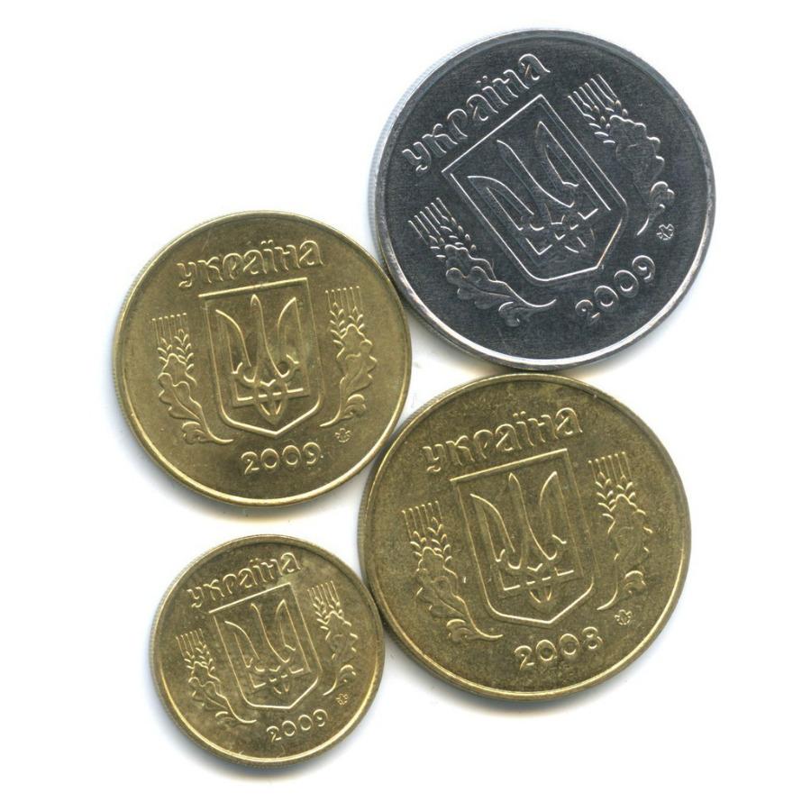 Набор монет 2008, 2009 (Украина)