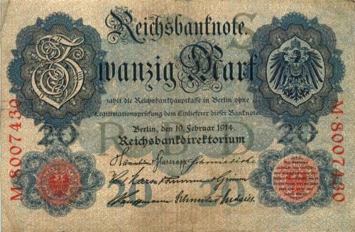 20 марок 1914 года (Германия)