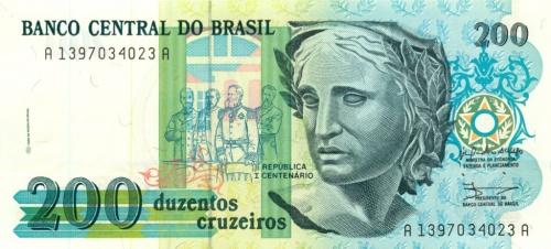 200 крузейро (Бразилия)