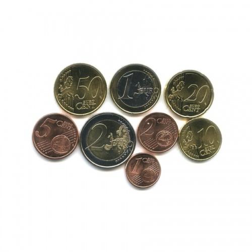 Набор монет евро 2012 года (Испания)