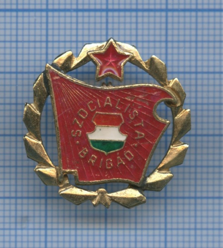 Знак «Szocialista Brigad» (Венгрия)