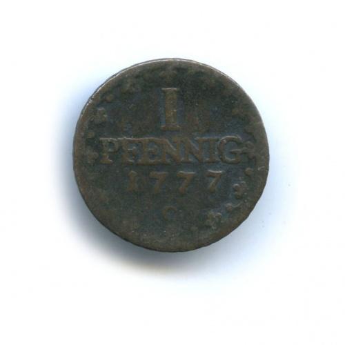 1 пфенниг (Саксония) 1777 года