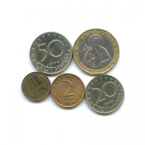 Набор монет (Болгария)
