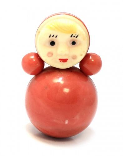 Игрушка «Неваляшка», 8,5 см (СССР)