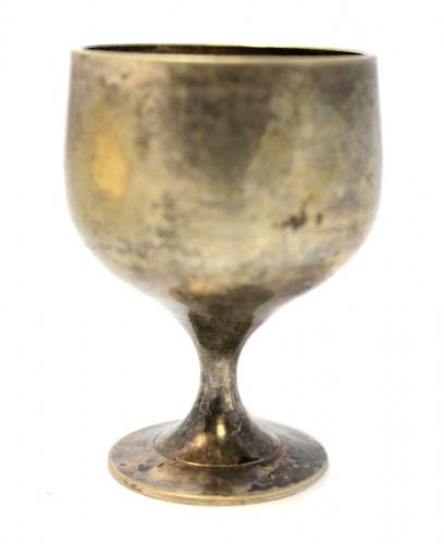 Рюмка (мельхиор, серебрение, 5,5 см)