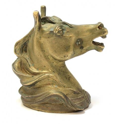 Фигурка «Голова лошади» (латунь, 7 см)