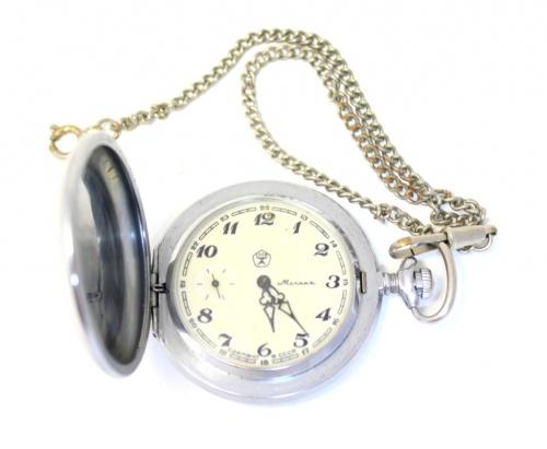 Часы карманные «Молния» (5 см) (СССР)