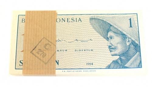 Набор банкнот 1 сен 1964 года (Индонезия)