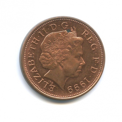 2 пенса 1999 года (Великобритания)