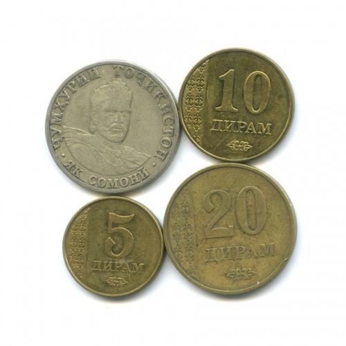 Набор монет 2001, 2011 (Таджикистан)
