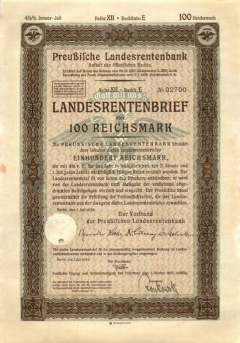 100 рейхсмарок 1943 года (Германия (Третий рейх))