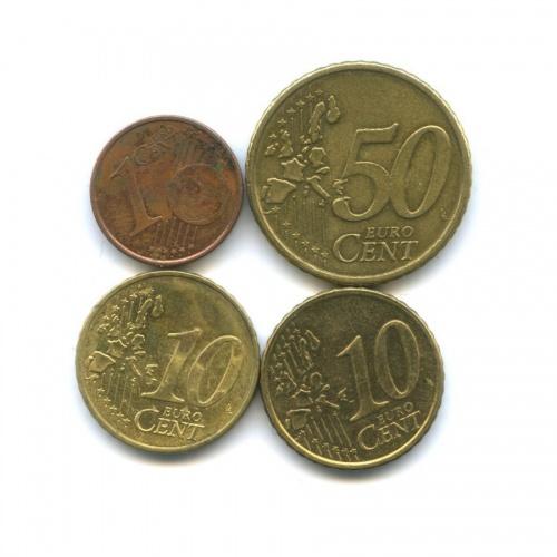 Набор евро центов (разные страны)