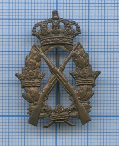 Знак «Заотличную стрельбу из винтовки», 3-я степень (Швеция)