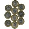 Набор юбилейных монет 10 рублей 2013-2015 (Россия)