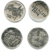 Набор монет 25 рублей - Олимпийские игры, Сочи-2014 (взапайках) (Россия)