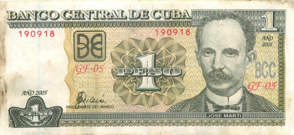 1 песо 2005 года (Куба)