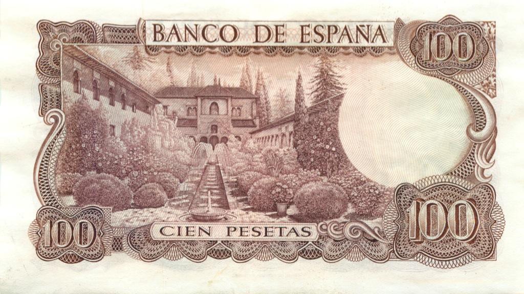 100 песет 1970 года (Испания)