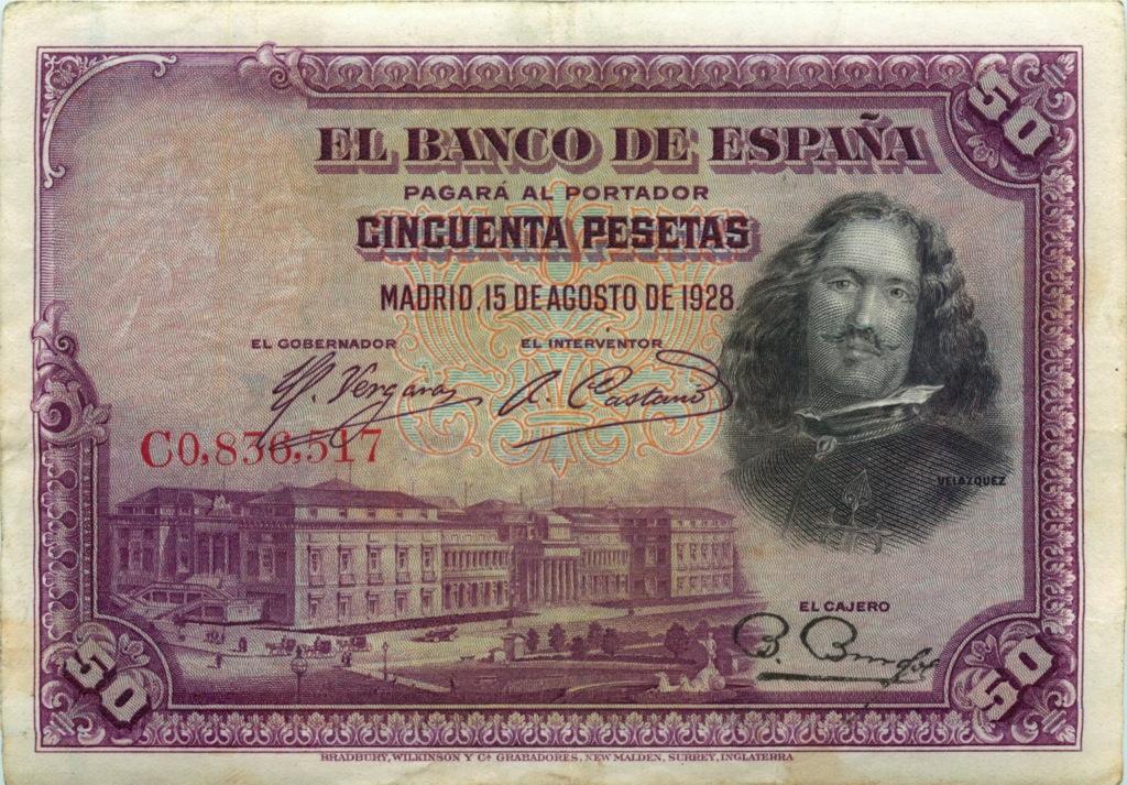 50 песет 928 года (Испания)