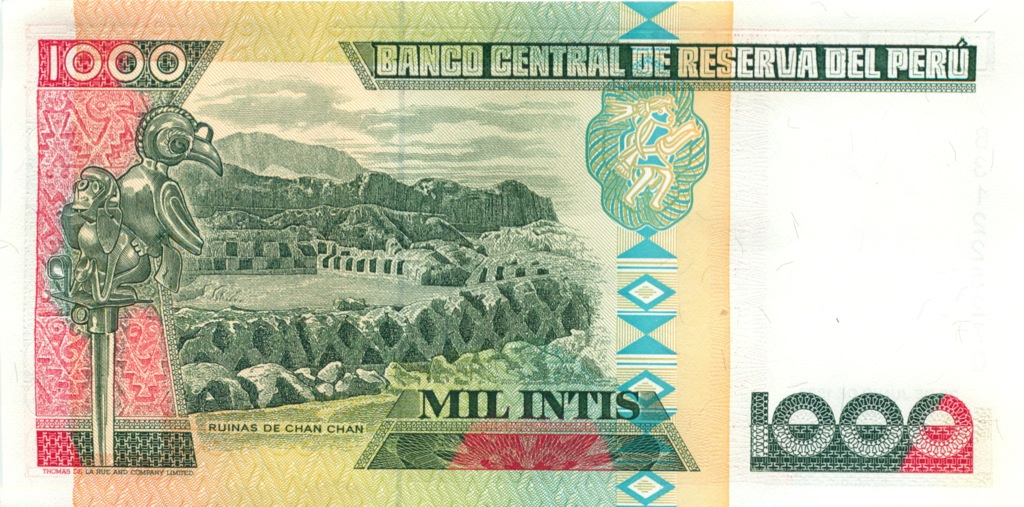1000 инти 1988 года (Перу)