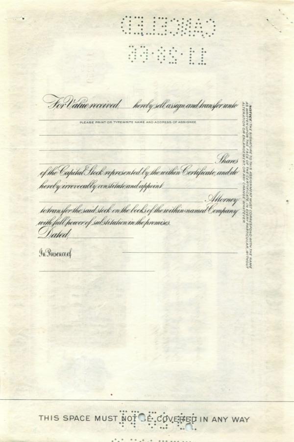 50 акций «Boston Edition Company» 1951 года (США)