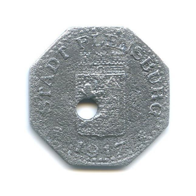 5 пфеннигов, Фленсбург (нотгельд) 1917 года (Германия)
