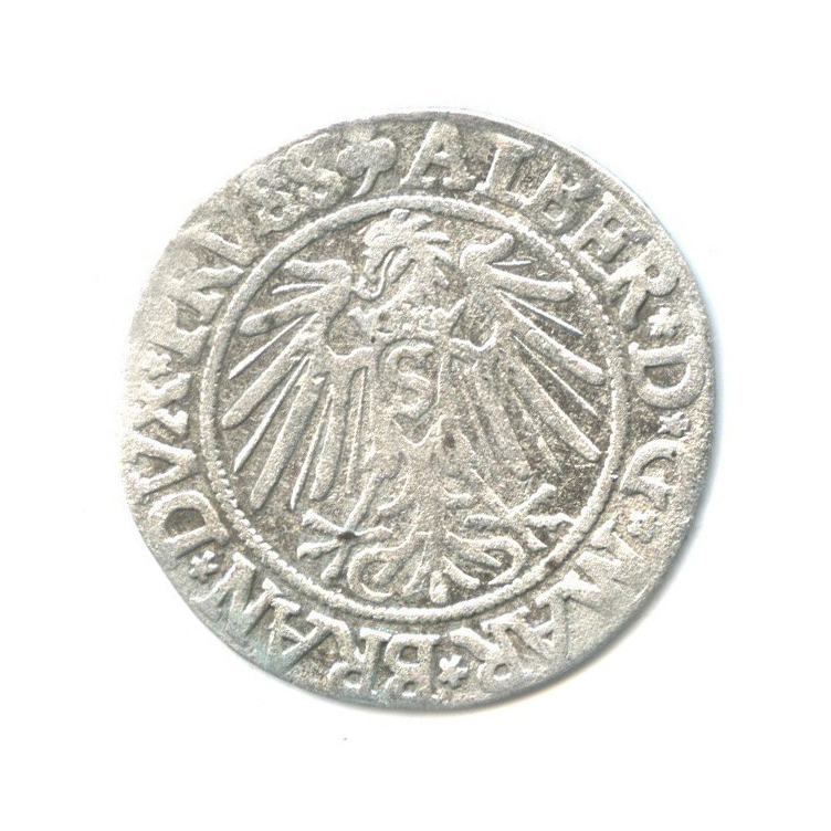 Грош - Альбрехт, Бранденбург, Пруссия 1542 года
