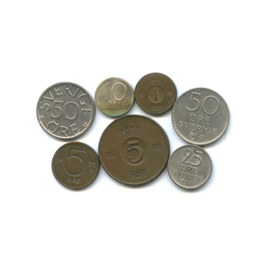 Набор монет (Швеция)