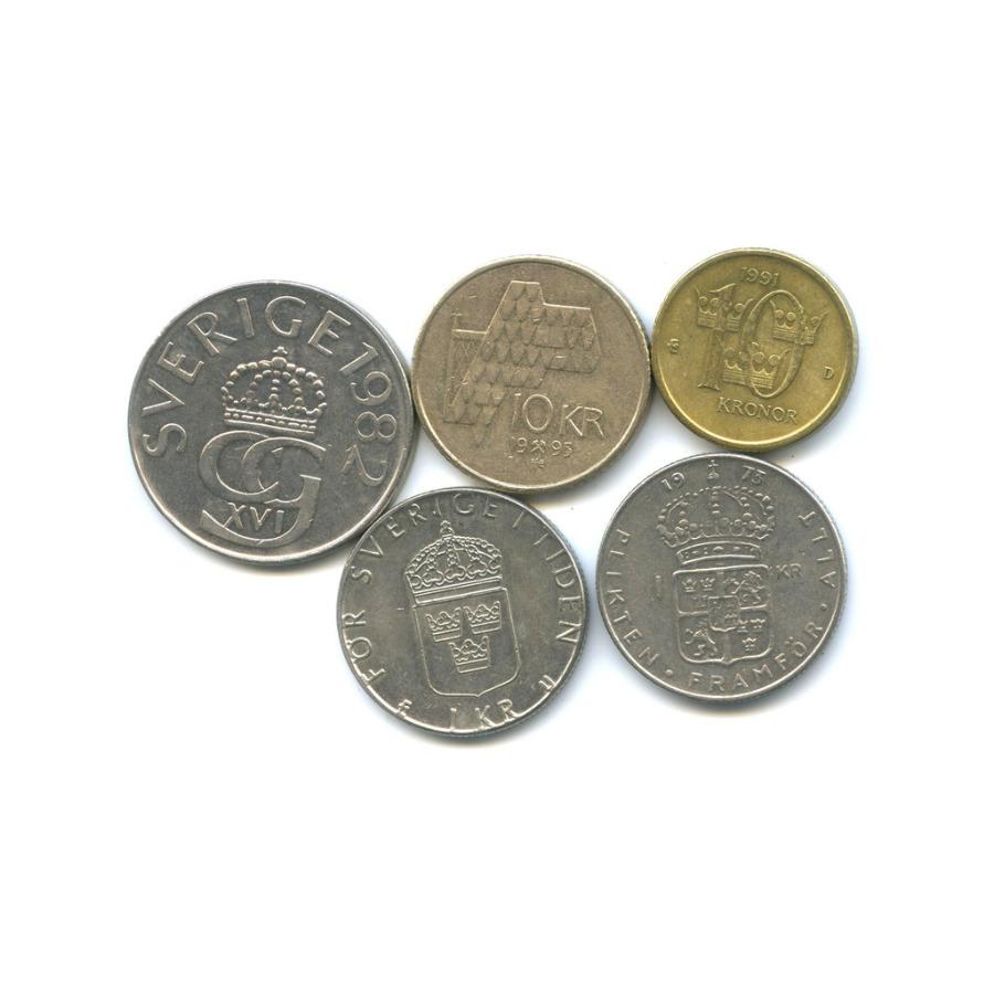 Набор монет (Швеция, Норвегия)