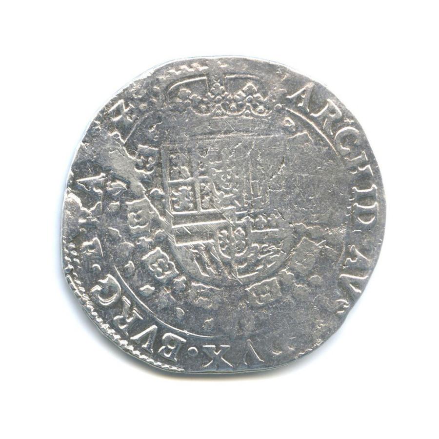 Талер «патагон», герцогство Брабант, Испанские Нидерланды 1637 года