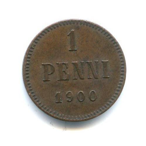 1 пенни 1900 года (Российская Империя)