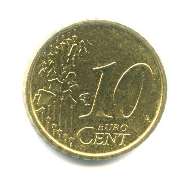 10 центов 2002 года (Испания)