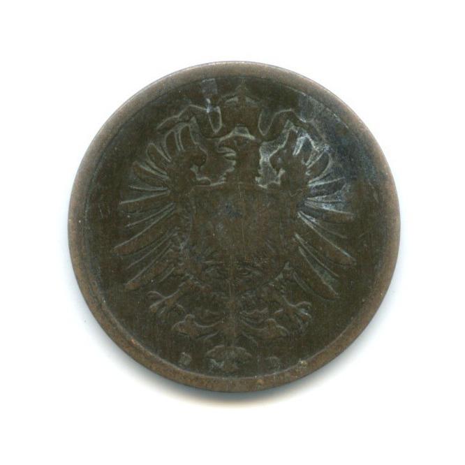 2 пфеннига 1876 года D (Германия)