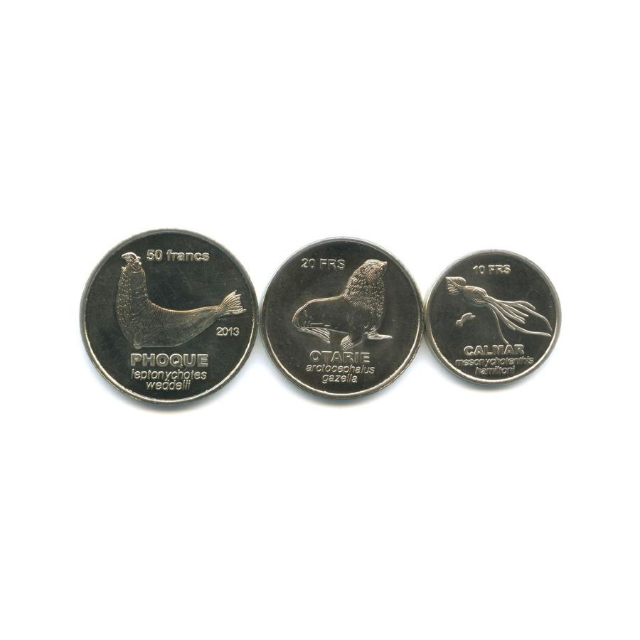 Набор монет, Острова Сен-Поль иАмстердам (Французские Южные иАнтарктические территории) 2011, 2013