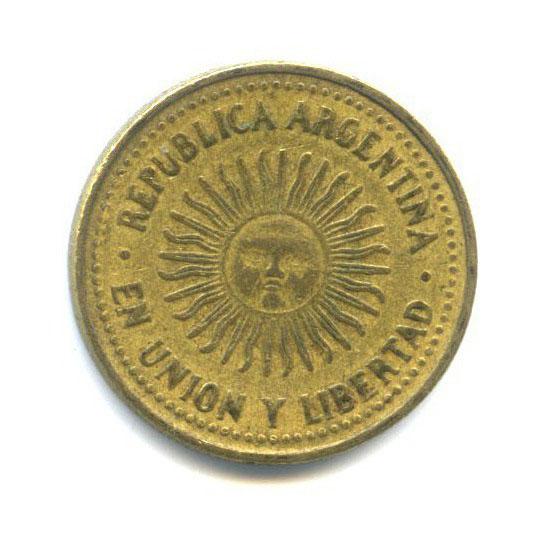 5 сентаво 1993 года o (Аргентина)