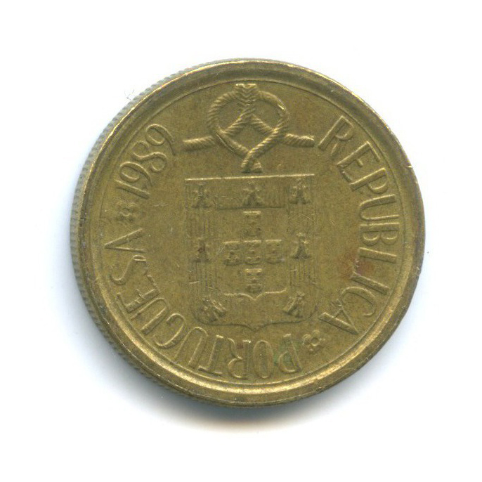 5 эскудо 1989 года (Португалия)