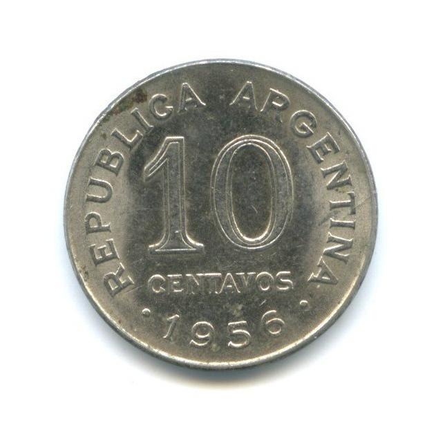 10 сентаво 1956 года (Аргентина)