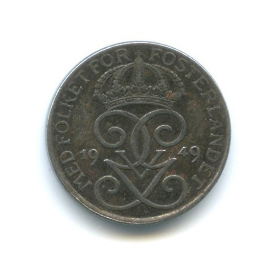 1 крона 1949 года (Швеция)