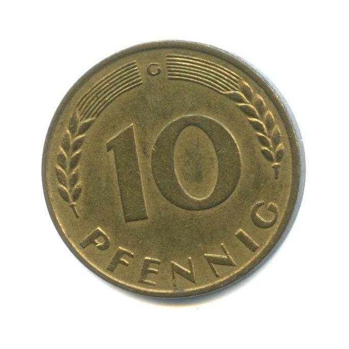 10 пфеннигов 1950 года G (Германия)