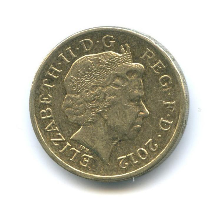 1 фунт 2012 года (Великобритания)
