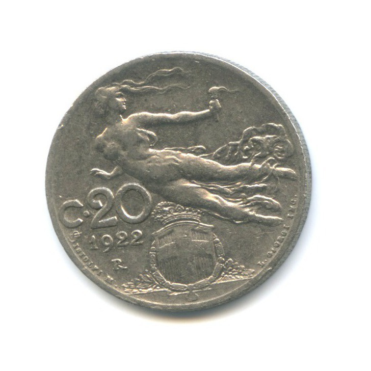 20 чентезимо 1922 года (Италия)