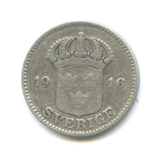 25 эре 1916 года (Швеция)
