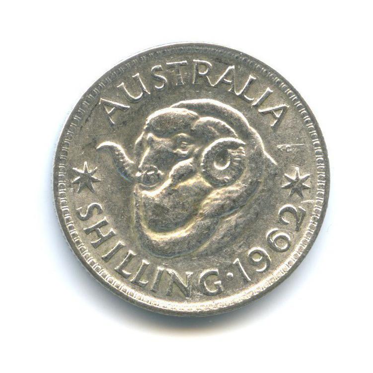 1 шиллинг 1962 года (Австралия)