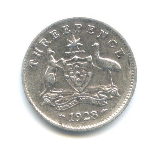 3 пенса 1928 года (Австралия)
