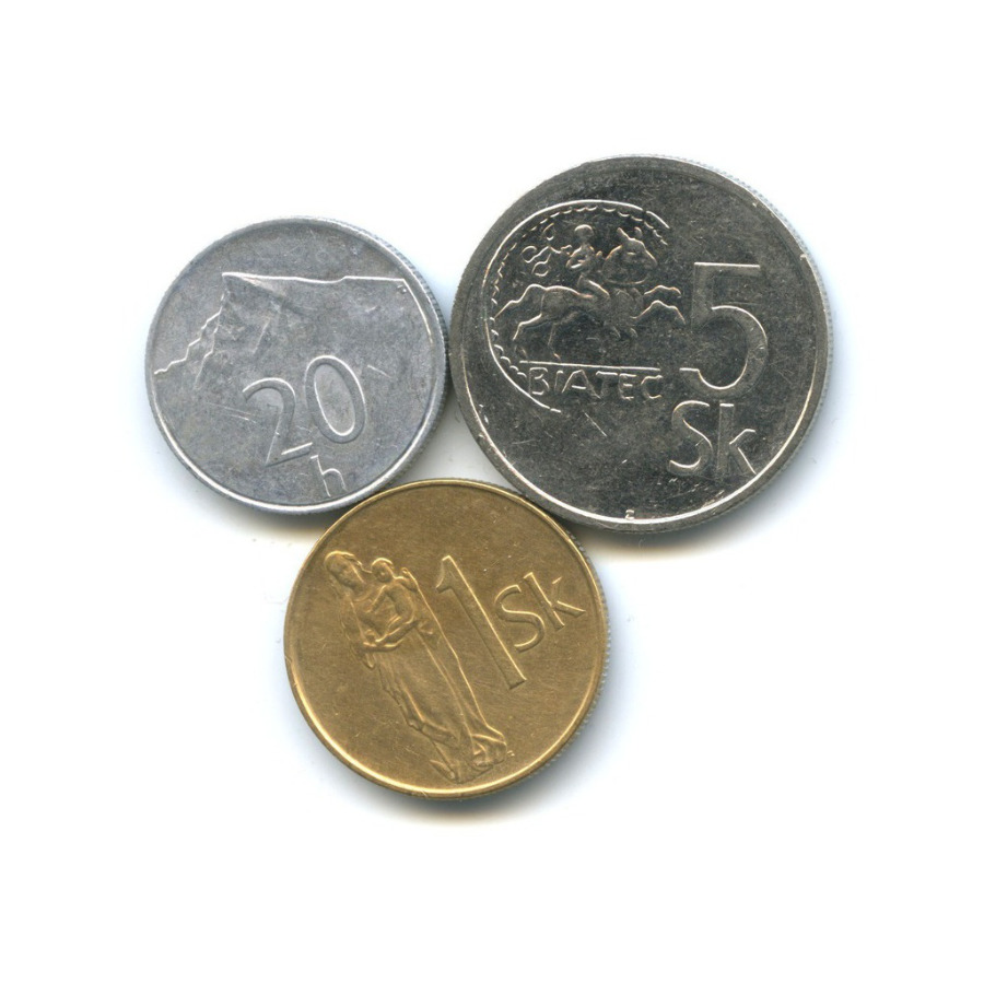 Набор монет 1994 года (Словакия)