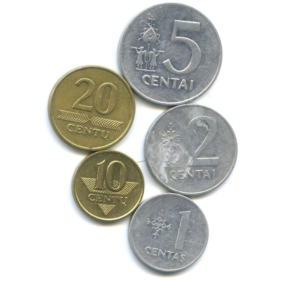 Набор монет 1991, 1997 (Литва)