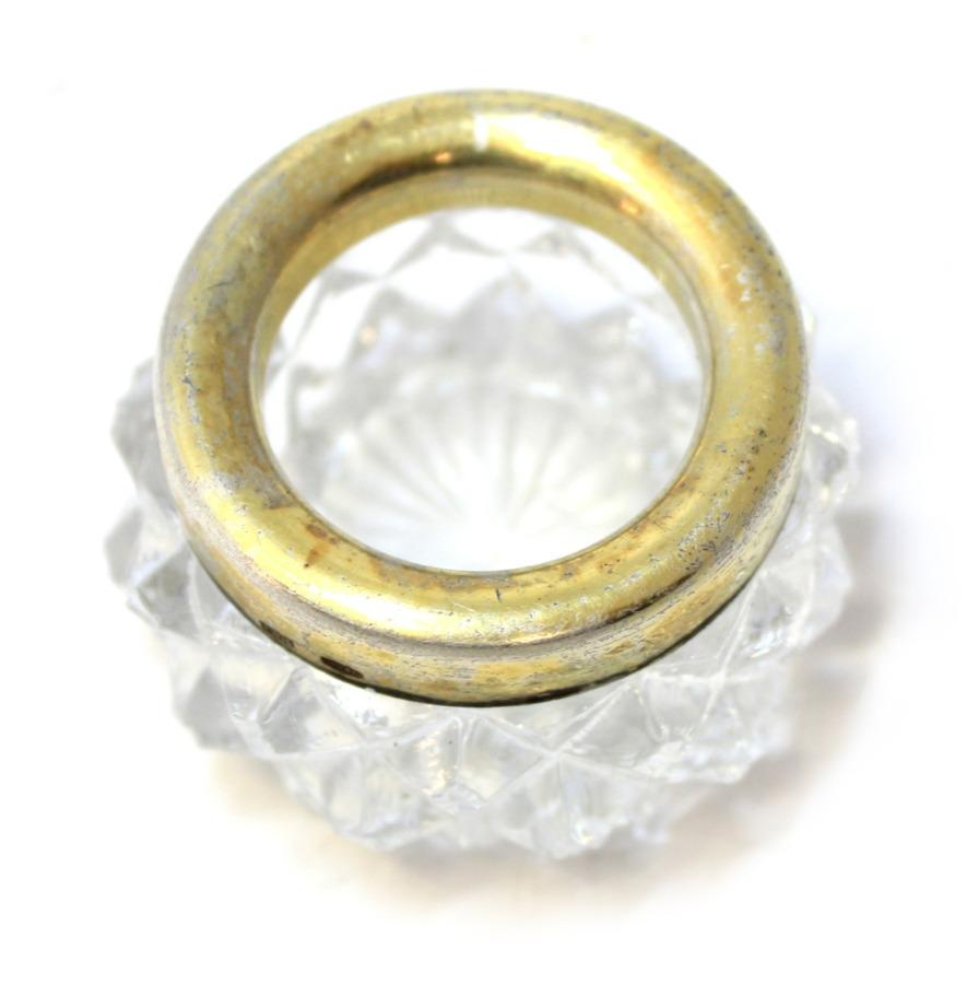 Солонка (875 проба серебра), 3,5×5,5 см (СССР)