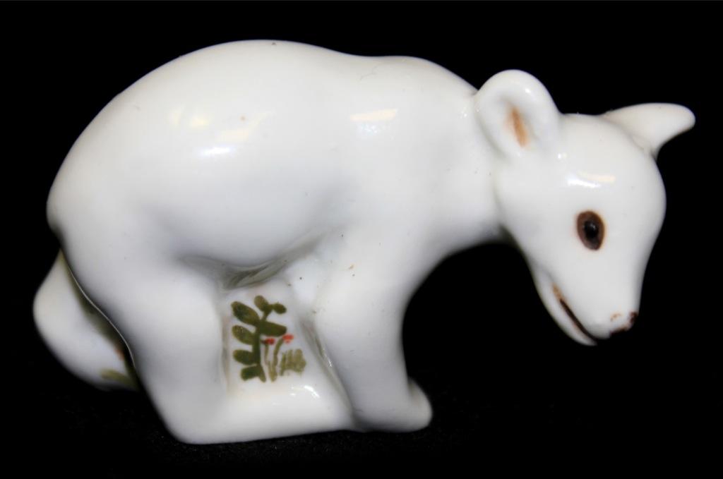 Фигурка «Белый медведь», 4×6,5 см