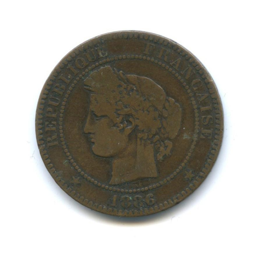 10 сантимов 1886 года (Франция)