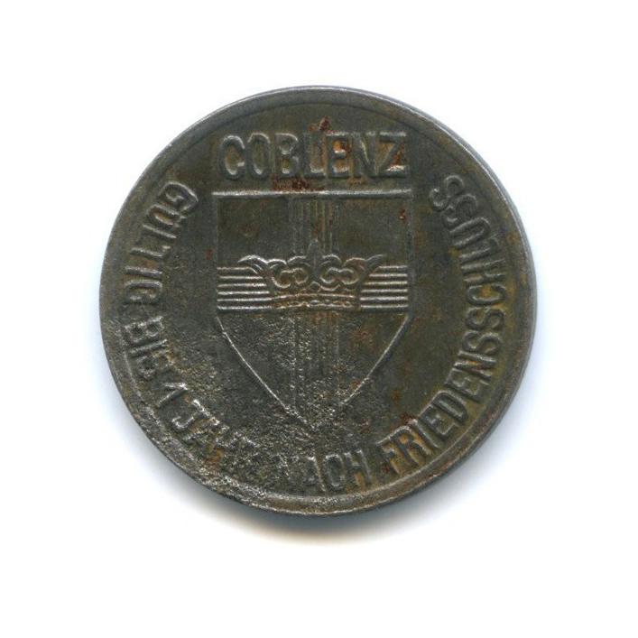 10 пфеннигов, Кобленц (нотгельд) 1918 года (Германия)