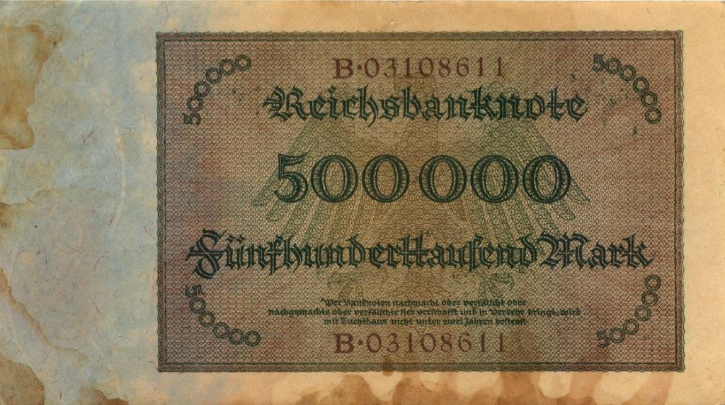 500 тысяч марок 1923 года (Германия)